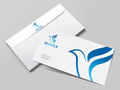 Kuş Logo Zarf Tasarımı