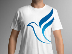 Kuş Logo T-shirt Tasarımı