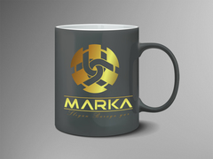 U Logo Mug Tasarımı