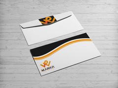 W logo Zarf Tasarımı