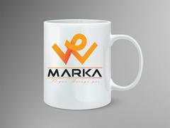 W logo Mug Tasarımı