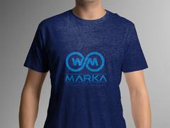 W M logo T-shirt Tasarımı
