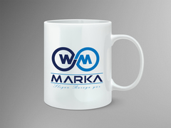 W M logo Mug Tasarımı