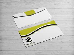 Z modern logo Zarf Tasarımı