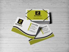 Z Logo Kartvizit Tasarımı