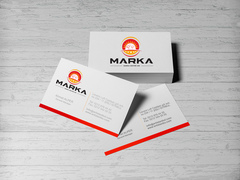 Şef logo Kartvizit Tasarımı