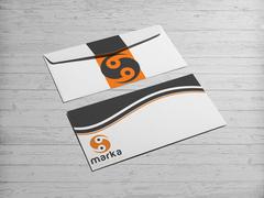 Yinyang Logo Zarf Tasarımı
