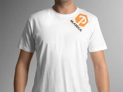 T ve P Logo T-shirt Tasarımı
