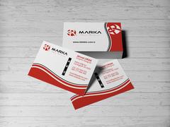 R Logo Kartvizit Tasarımı