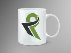 K ve P Logo Mug Tasarımı