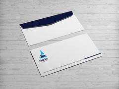 Yelken Logo Zarf Tasarımı
