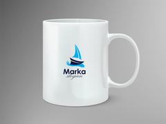 Yelken Logo Mug Tasarımı