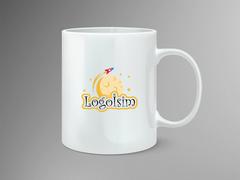 Gezegen Logo Mug Tasarımı