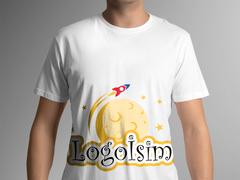 Gezegen Logo T-shirt Tasarımı