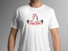 Logo piliç T-shirt Tasarımı