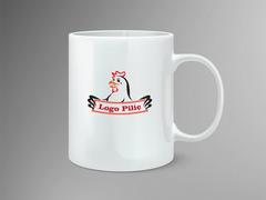Logo piliç Mug Tasarımı