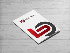 B ve O Harfi Logo Dosya Tasarımı