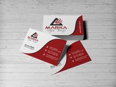 A Harfi Logo Kartvizit Tasarımı