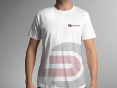 B ve O Harfi Logo T-shirt Tasarımı