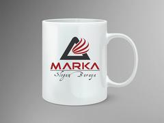 A Harfi Logo Mug Tasarımı