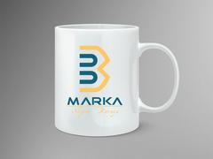 B ve M Logo Mug Tasarımı