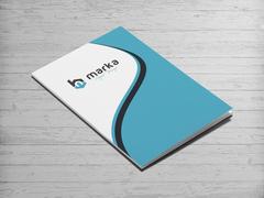 B Logo Dosya Tasarımı