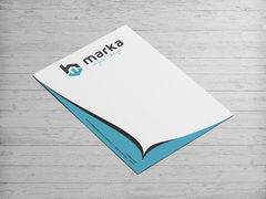 B Logo Antentli K. Tasarımı