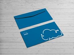 Bulut Logo Zarf Tasarımı