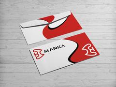 B Logo Zarf Tasarımı