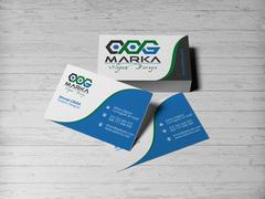 C-O ve G Logo Kartvizit Tasarımı