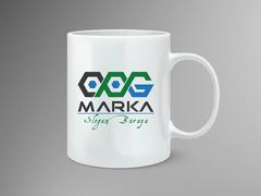 C-O ve G Logo Mug Tasarımı