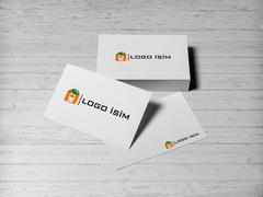 Portakal Logo Kartvizit Tasarımı