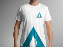 Üçgen Damla T-shirt Tasarımı