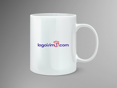 Hediye paketli logo Mug Tasarımı