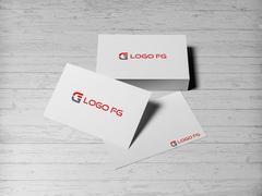 F ve G Logo Kartvizit Tasarımı