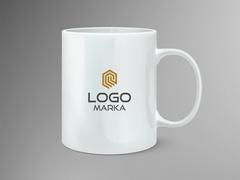 Modern Logo Mug Tasarımı