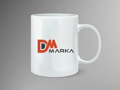 D ve M Logo Mug Tasarımı