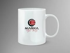 C ve E Logo Mug Tasarımı