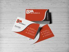 D ve M Logo Kartvizit Tasarımı