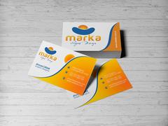 Güneş Logo Kartvizit Tasarımı