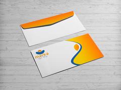 Güneş Logo Zarf Tasarımı
