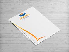 Güneş Logo Antentli K. Tasarımı