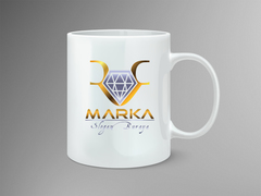 Pırlanta Logo Mug Tasarımı