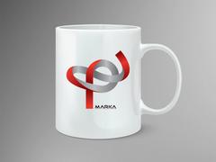 P Logo Mug Tasarımı