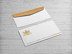 Aslan Logo Zarf Tasarımı