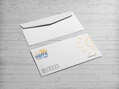 Güneş Logosu Zarf Tasarımı