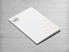 Güneş Logosu Dosya Tasarımı