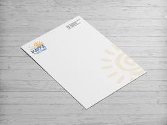 Güneş Logosu Antentli K. Tasarımı