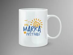 Güneş Logosu Mug Tasarımı
