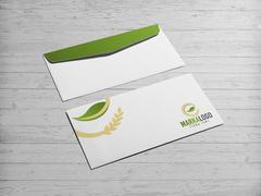 Gıda logo  Zarf Tasarımı